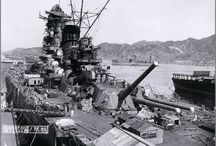 Yamato and Musashi battleship