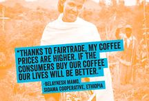 Fair Trade Month 2014 / Celebrate Fair Trade Month this October! Share all your Fairtrade Certified products and savor the fact that buying fair trade means you help almost 2 million farmers around the world. / by Fairtrade America