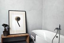 Minimalistisches Interieur / Schlicht, schwarz, weiß. Minimalismus in der Wohnung ist genau mein Stil.