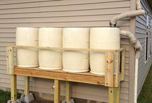 suporte para armazenar água