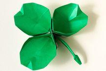 platos origami