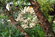 Garden Sculpture / Photographs of different types and forms of garden sculptures.