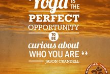 Yoga Quotes And Inspiration / Yoga is chock-full of wise advice. Yoga inspirational quotes help you to deepen your practice and brighten your day!