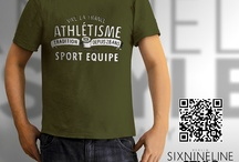 Sports Shirts by sixnineline style / sixnineline style Berlin | Clothing Design - T-Shirts, Hoodies, Polo-Shirts, Pullover, Girlie-Shirts, Bags ........