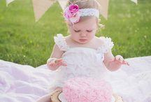Cake Smash - Baby Girl