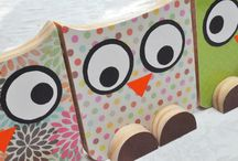 Crafts - Owls / by Nicole Shannon