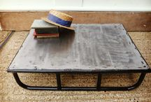 Tables / High-end vintage and industrial tables that are for sale on http://www.warehouseoflondon.com/.