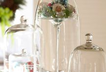 Decorating with glass
