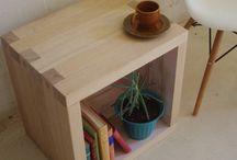 Side table/wooden unit