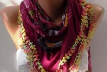 Scarves and Pretty Additions / by Christina Kalamaras