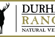 Natural & Sustainable Meat / The Durham Ranch brand focuses on naturally and sustainably raised animals.  We support small family ranchers and farmers with all of our products.