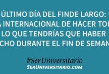 Ser Universitario / https://www.facebook.com/SerUniversitario.com.ar --- https://www.pinterest.com/SerUniv/