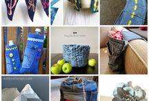 Couture recyclage / Réutiliser des matières