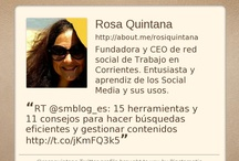 Acerca de mí / by Rosa Quintana