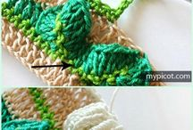 Вязание. Объемные узоры