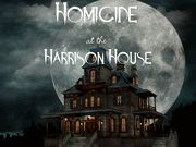 Homicide at the Harrison House - Murder Mystery Party / An exciting large group murder mystery party game set in a traditional old mansion for 20-75 guests, ages 14+. There are 20 characters that are  required and up to 75 unique characters to use - loads of flexibility for your large party! This game can be played as CO-ED, all female , or all male with the 20 required characters, however, the remaining 55 characters are divided as 28F and 27M.