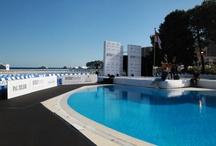 Le Grand Prix de Monaco / Décoration de la principauté par EG lors du Grand Prix de Monaco. Décorations de soirées monégasque, des installations de stands, kakémonos...