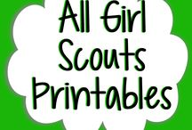 Girl Scouts / by Sommer Poquette (@greenmom)