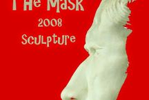 The Mask 2008 surreal sculpture