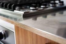steel bench tops