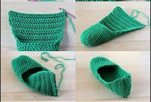 scarpe crochet