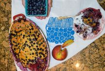Blueberry Peach Cobbler / Here you will find everything related with blueberries and peach. Form cobbler to pedicure that has blueberry and peach in it.