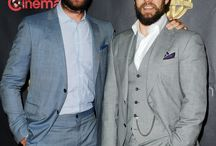 Henry Cavill at CinemaCon 2015 / Henry Cavill and Armie Hammer attended CinemaCon