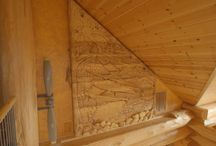 Magnificent Memorial / Take a closer look at the magnificent memorial carved by Pete, Paul and Jacob.  / by Timber Kings