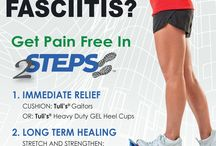 Plantar Fasciitis Treatment / Great exercises and advice on treating, curing and preventing Plantar Fasciitis.