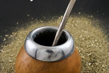 Yerba Mate / Yerba Mate, a traditional drink from South America as a stress reliever.