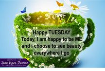 Tuesday Quotes ★ Jade Kyles Psychic / Tuesday Quotes to share. Good morning friends. Blessings, inspiration, positivity and greetings are being sent your way with my these Tuesday Quotes. ♡ Many blessings Jade Kyles Psychic ♡ Thanks for connecting. I would love you to visit me at www.jadekyles.com or on fb at www.facebook.com/jadekylespsychic . You can also subscribe to my channel at www.youtube.com/jadekylespsychic