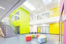 Skole interiør