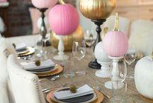 Thanksgiving decoration / by Melanie Alejos