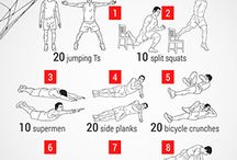Football Workouts / Here are some of a favourite work outs and tips, to keep you in tip top shape.