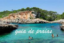 Praias / As melhores praias dos quatro cantos do mundo; locais à beira-mar para um pôr-do-sol em boa companhia.