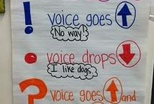 {classroom} anchor charts