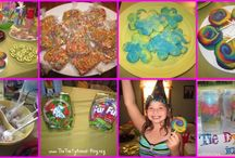 Hannahs party ideas / by Amber Bealor