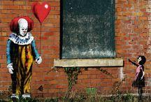 Art / Street art - IT vs Bansky