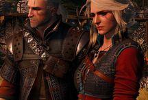 Witcher - Geralt and Ciri