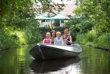 Rondvaart, fluisterbootje varen of kanovaren / Ontspannen op de Regge, huur een fluisterbootje, ga mee met een rondvaart of kanovaren op de Regge.