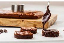 dark chocolate brownies