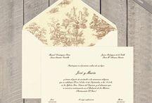 Invitaciones boda y seatting