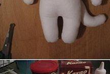 zabawki filc