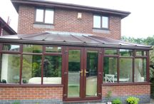 English Conservatories / Some of the conservatories for which we've installed our conservatory roof insulation systems. Some great in-progress shots and a chance to compare and contrast the different conservatories we've worked on!