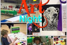 School Art Show Ideas