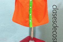 Ropa de Niño / Camisas, y pantalones para niños realizadas por las alumnas en clasesdecostura.com