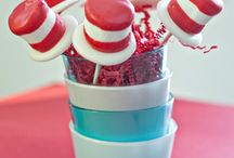 Cat in the Hat Party theme