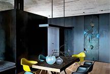 décoration chaleureuse / décoration d'intérieure avec idées de couleurs et d'affiches à mettre sous cadres