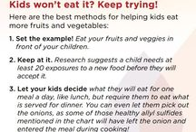 Just for Kids / Food or Wellness ideas for children
