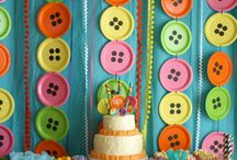 Inspiration: Party Time / Baby showers, first birthdays, playdates, and more - here's some fab inspiration to make those first parties memorable! / by Lullaby Paints